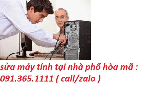 sửa máy tính hòa mã