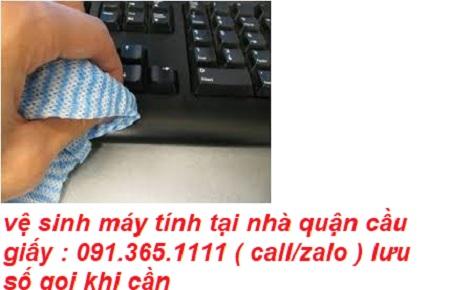 vệ sinh máy tính tại quận cầu giấy