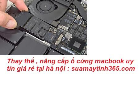 thay ổ cứng macbook uy tín tại hà nội - Thay ổ cứng macbook uy tín giá rẻ tại hà nội