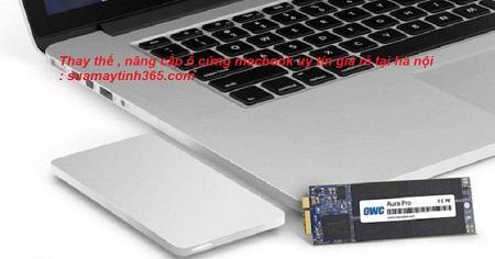 thay ổ cứng ssd macbook uy tín tại hà nội