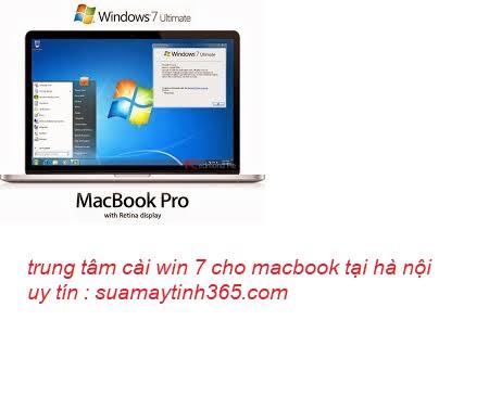 cài win 7 cho macbook tại hà nội