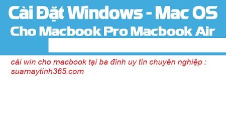 cài win cho macbook tại ba đình