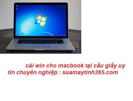 cài win cho macbook tại cầu giấy uy tín