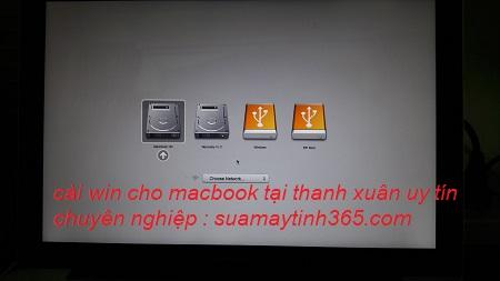 cài win cho macbook tại thanh xuân uy tín