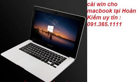 cài win cho macbook tại Hoàn Kiếm uy tín