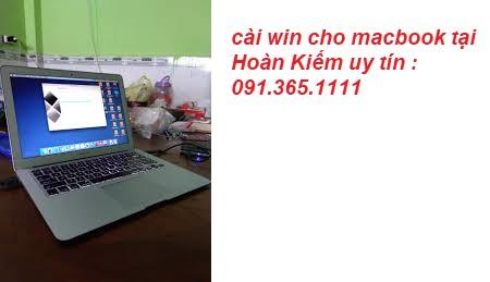 cài win cho macbook tại Hoàn Kiếm