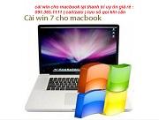 cài win cho macbook thanh trì