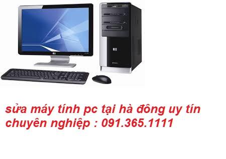 sửa máy tính pc tại hà đông giá rẻ