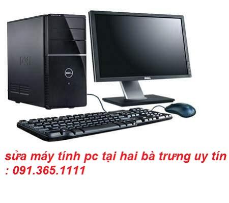 sửa máy tính pc tại hai bà trưng giá rẻ