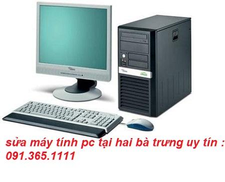 sửa máy tính pc tại hai bà trưng
