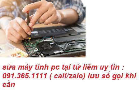 sửa máy tính pc tại nhà từ liêm