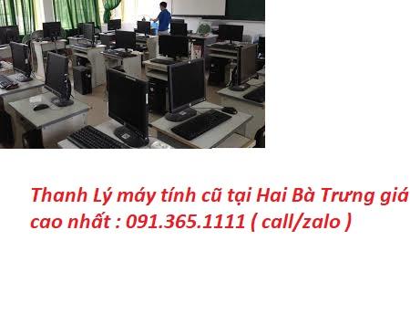 Thanh Lý máy tính cũ tại Hai Bà Trưng