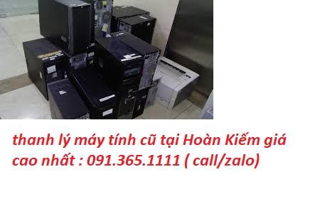 thanh lý máy tính cũ tại Hoàn Kiếm