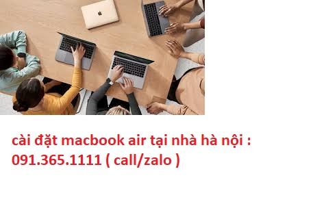 cài đặt macbook air tại hà nội chuyên nghiệp