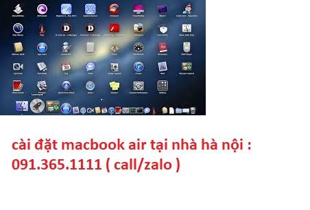 cài đặt macbook air tại hà nội