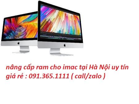 nâng cấp ram cho imac tại Hà Nội