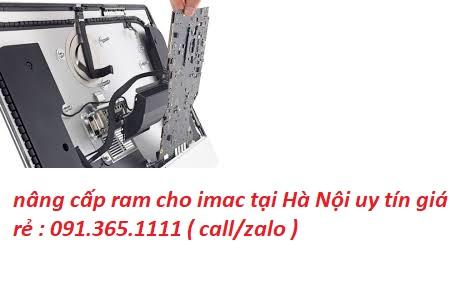 nâng cấp ram cho imac tại nhà Hà Nội