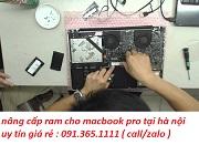 nâng cấp ram cho macbook pro tại nhà hà nội