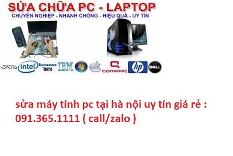 sửa máy tính pc tại hà nội giá rẻ