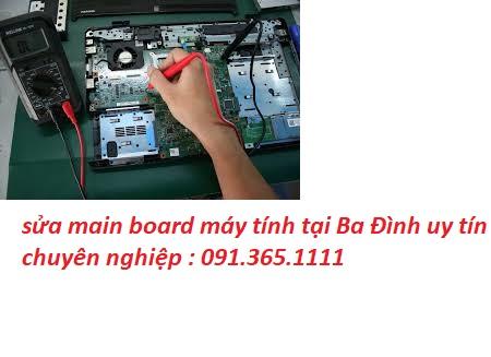 sửa main board máy tính tại Ba Đình giá rẻ