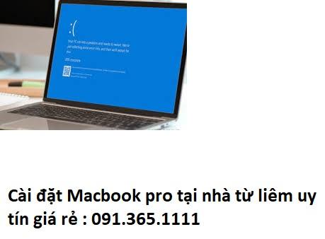 Cài đặt Macbook pro tại nhà từ liêm
