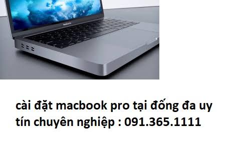 cài đặt macbook pro tại đống đa giá rẻ