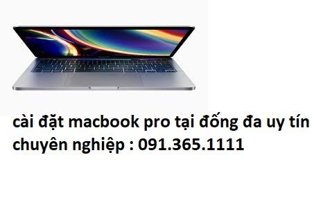cài đặt macbook pro tại đống đa