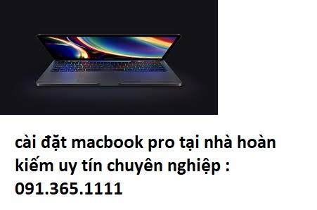 cài đặt macbook pro tại nhà hoàn kiếm giá rẻ