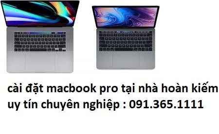 cài đặt macbook pro tại nhà quận hoàn kiếm
